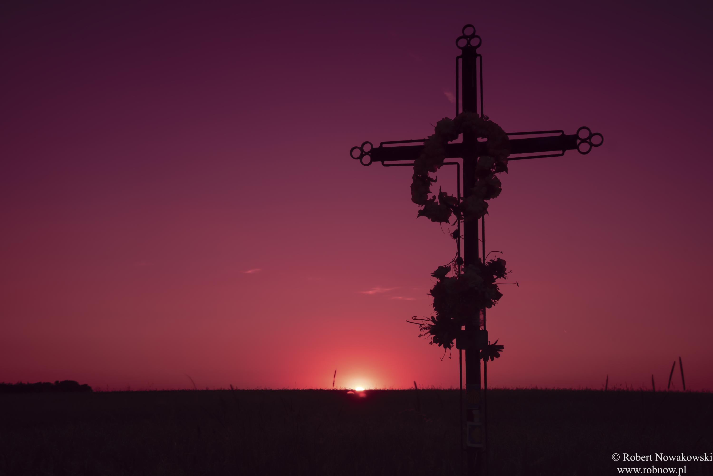 Polny krzyż....