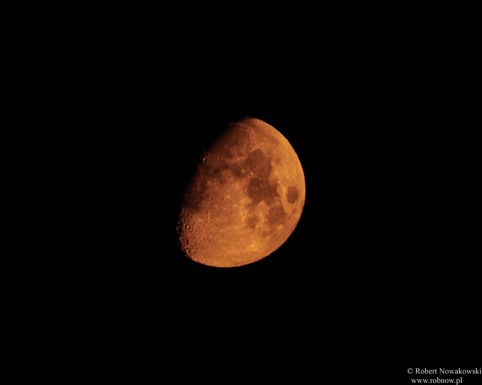 Letni Księżyc u nas na wsi...