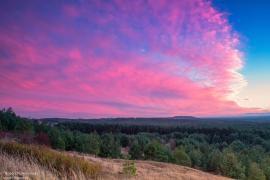 Zachód Słońca u nas na wsi ...